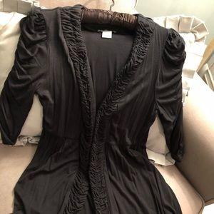 Black sweet  cardigan..